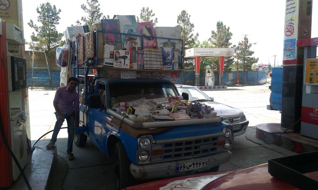 Iránsky pojazdný obchod